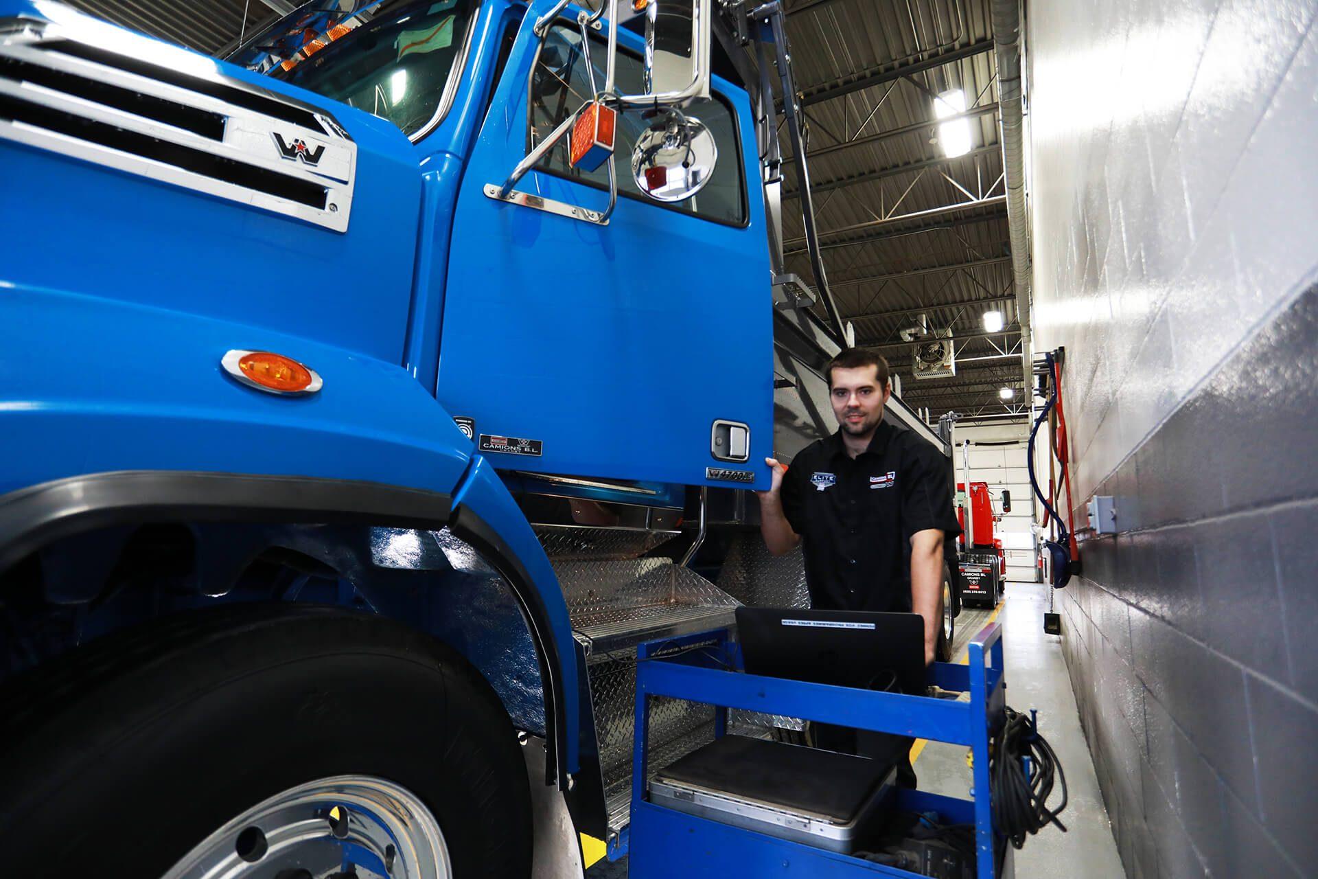 Transporteur de camions (Jockey)